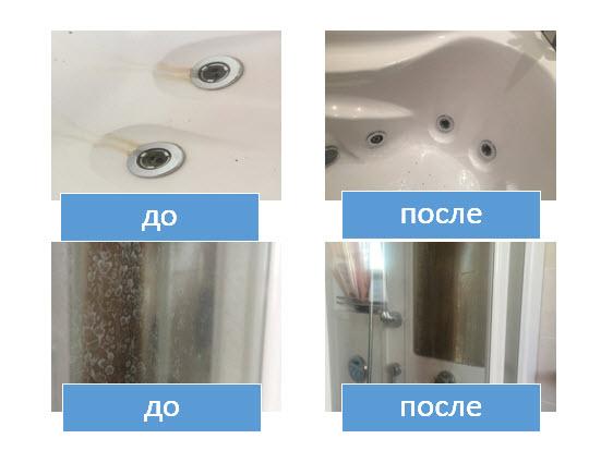 Экологичная уборка ванной